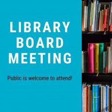 Library Board August Meeting